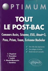 Guillaume Dupéret et Julien Sandras - Tout le post-bac.