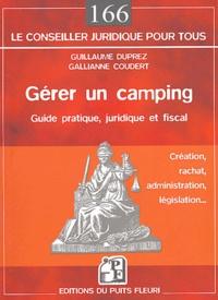 Histoiresdenlire.be Gérer un camping - Création, rachat, administration, législation Image