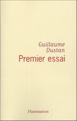 Guillaume Dustan - Premier essai - Chronique du temps présent.