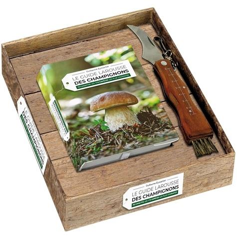Le guide Larousse des champignons. Reconnaître les 170 espèces les plus courantes. Avec un couteau à champignons