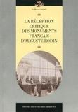 Guillaume Gaudet - La réception critique des monuments français d'Auguste Rodin.
