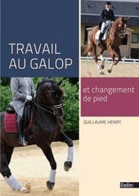 Guillaume Henry - Travail au galop et changement de pied.
