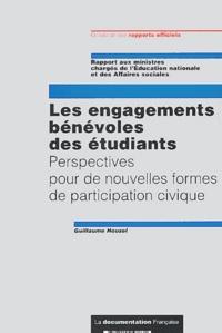 Guillaume Houzel - Les engagements bénévoles des étudiants - Perspectives pour de nouvelles formes de participation civique.