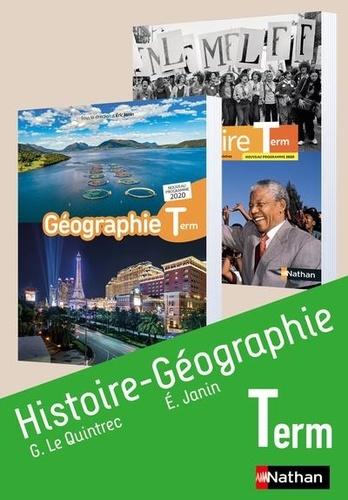 Guillaume Le Quintrec et Eric Janin - Histoire-Géographie Terminale.