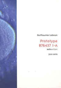Guillaume Lebrun - Prototype 876437 1-A.