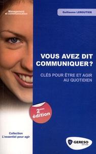 Deedr.fr Vous avez dit communiquer ? - Clés pour être et agir au quotidien Image