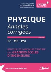 Physique PC-MP-PSI - Annales corrigées.pdf