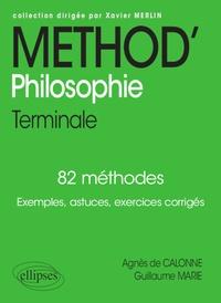 Guillaume Marie et Agnès de Calonne - Philosophie Tle.