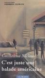 Guillaume Nicloux - C'est juste une balade américaine.