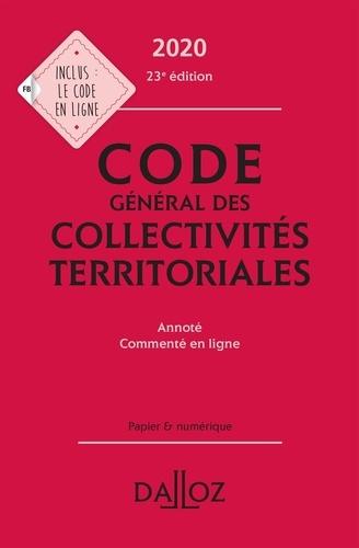 Guillaume Pailler - Code général des collectivités territoriales - Annoté - Commenté en ligne.