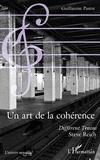 Guillaume Pastre - Un art de la cohérence - Différent trains, Steve Reich.