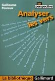 Guillaume Peureux - Analyser les vers.