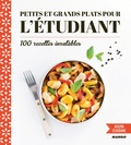 Guillaume Pô - Petits et grands plats pour l'étudiant - 100 recettes inratables.