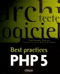 Guillaume Ponçon - Best practices PHP 5.
