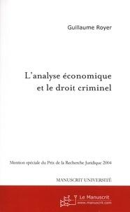 Histoiresdenlire.be L'analyse économique et le droit criminel - Une approche juridique Image