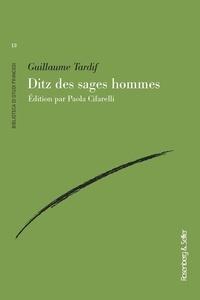 Guillaume Tardif - Ditz des sages hommes.