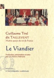 Guillaume Tirel - Le Viandier.