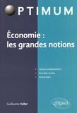 Guillaume Vallet - Economie : les grandes notions.