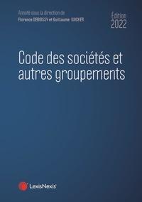 Guillaume Wicker et Florence Deboissy - Code des sociétés et autres groupements.