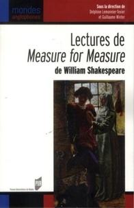 Guillaume Winter et Delphine Lemonnier-Texier - LecturesdeMeasureforMeasure de William Shakespeare.