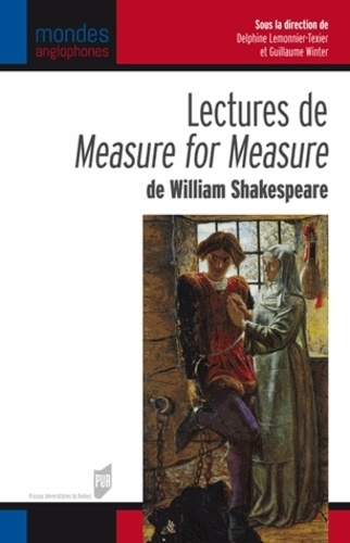 Guillaume Winter et Delphine Lemonnier-Texier - Lectures de Measure for Measure de William Shakespeare.