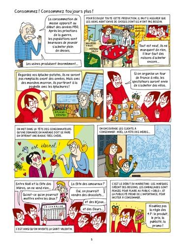 Consommation : le guide de l'anti-manipulation en BD