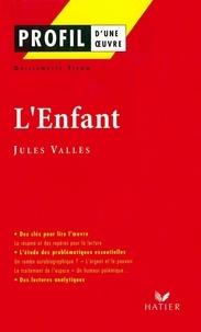 Guillemette Tison - Profil - Vallès (Jules) : L'Enfant - Analyse littéraire de l'oeuvre.