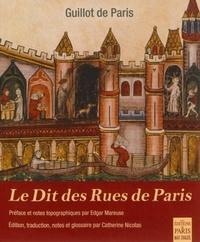 Guillot de Paris - Le Dit des Rues de Paris.