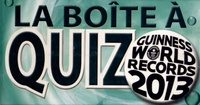Guinness World Records - La boîte à quiz Guinness World Records 2013.
