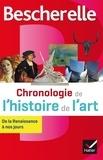 Guitemie Maldonado et Marie-Pauline Martin - Chronologie de l'histoire de l'art - De la Renaissance à nos jours.