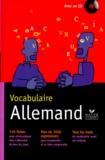 Gunhild Samson et Jean Janitza - VOCABULAIRE ALLEMAND. - Avec un CD.