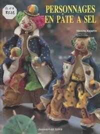 Gunter Foerster et Guillermo Jerez - Personnages en pâte à sel.