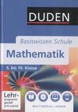 Gunther Rolles et Michael Unger - Mathematik Basiswissen Schule - 5. bis 10. Klasse. 1 DVD