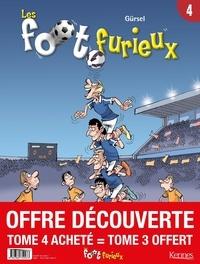 Gürsel - Les foot furieux Tome 4 : Avec le tome 3 offert.