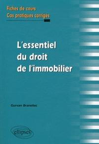 Deedr.fr L'essentiel du droit de l'immobilier - Fiches de cours et cas pratiques corrigés Image