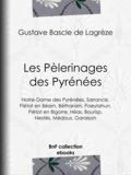 Gustave Bascle de Lagrèze - Les Pèlerinages des Pyrénées - Notre-Dame des Pyrénées, Sarrance, Piétat en Béarn, Bétharam, Poeylahun, Piétat en Bigorre, Héas, Bourisp, Nestés, Médous, Garaison.