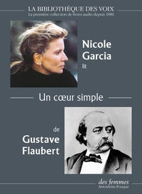 Gustave Flaubert - Un coeur simple - 1 cd mp3.