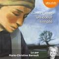 Gustave Flaubert - Un coeur simple - CD audio.
