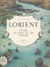 Gustave Mansion et Gabriel Bourdier - Lorient - Patrie de Paul et de Virginie.