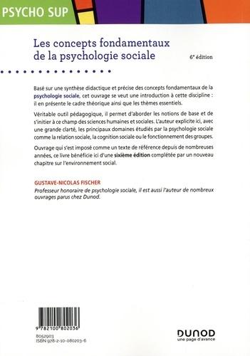 Les concepts fondamentaux de la psychologie sociale 6e édition