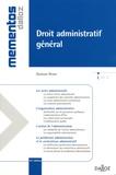 Gustave Peiser - Droit administratif général.