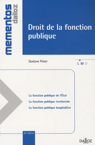 Gustave Peiser - Droit de la fonction publique.