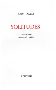 Guy Allix - Solitudes.
