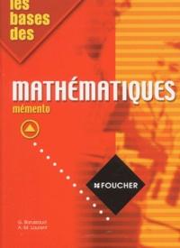 Les bases des mathématiques. - Mémento.pdf