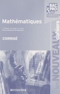 Deedr.fr Mathématiques 2e Bac Pro - Corrigé Image