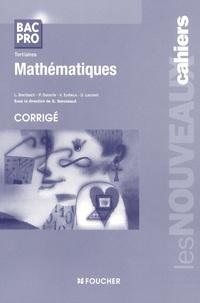 Guy Barussaud - Mathématiques Bac pro tertiaires - Corrigé.