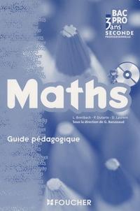 Guy Barussaud et Philippe Dutarte - Maths 2e Bac Pro - Guide pédagogique.