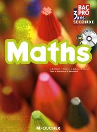Guy Barussaud - Maths Bac Pro, 3 ans - Seconde professionnelle. 1 Cédérom