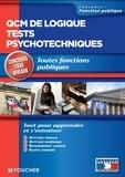 Guy Barussaud et Michèle Eckenschwiller - QCM de logique tests psychotechniques Concours tous niveaux.