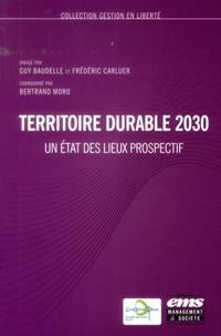 Guy Baudelle et Frédéric Carluer - Territoire durable 2030 - Un état des lieux prospectif.